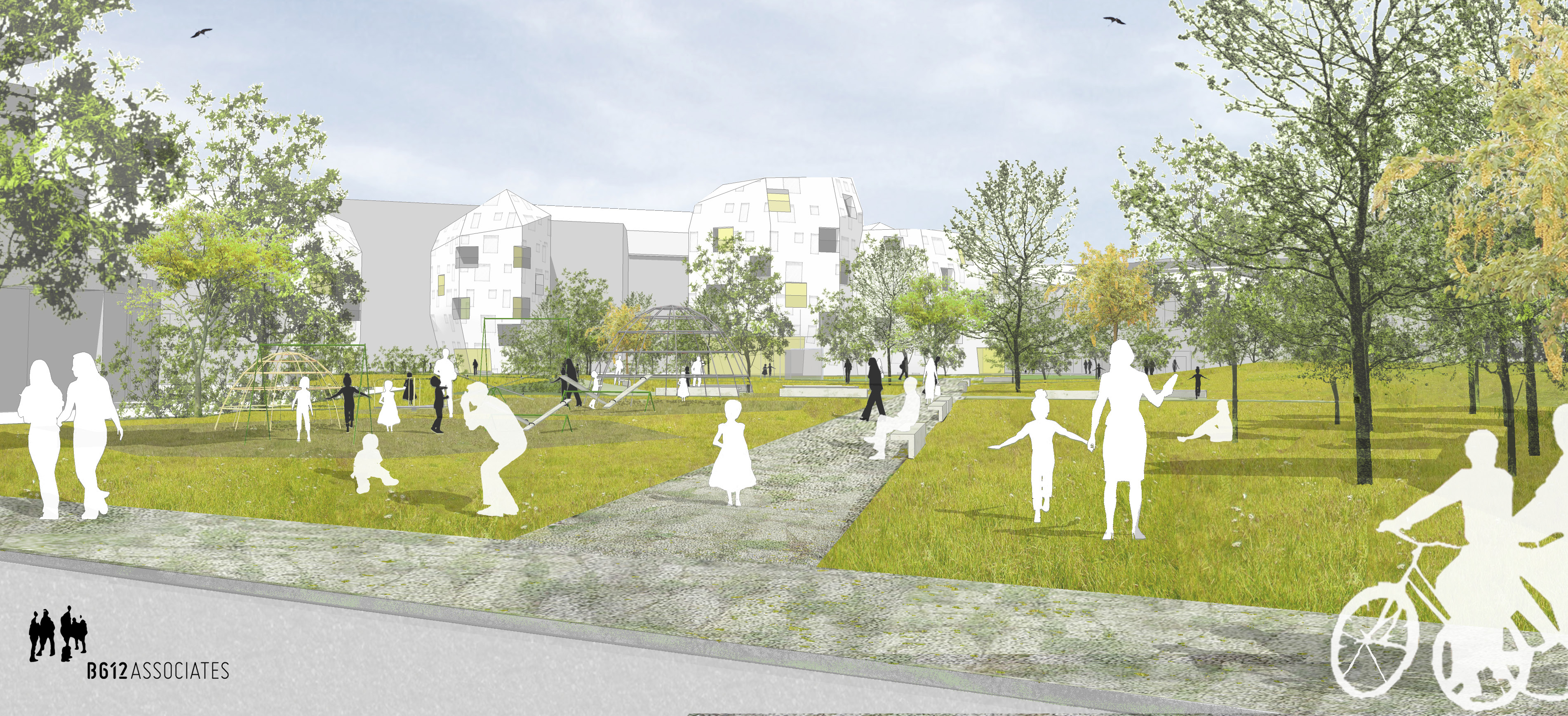 Contrat de quartier durable jardin aux fleurs ville de for Piscine de jardin belgique