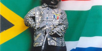 Manneken-Pis et Nelson Mandela