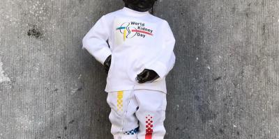 Manneken-Pis et la Journée mondiale du rein