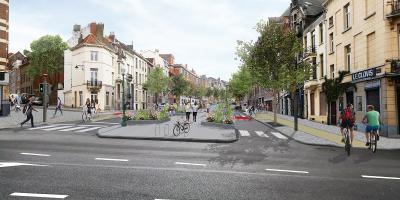 Réaménagement boulevard Clovis