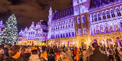 Eclairage LED Grand-Place