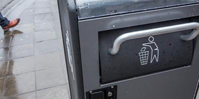 Des poubelles intelligentes