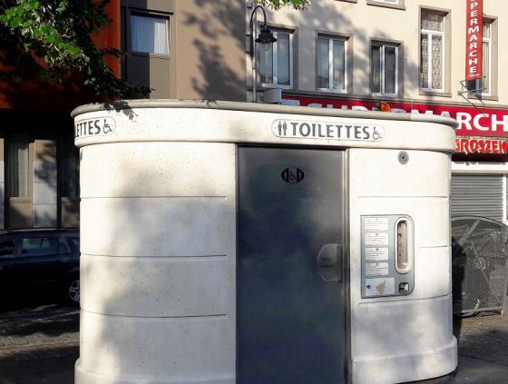 Appel à projet. Réalisation d'une oeuvre artistique sur 3 toilettes publiques