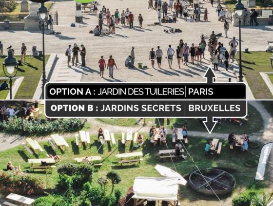 Découvrir Bruxelles avec Option B