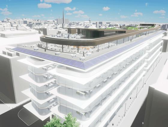 Nouveau Centre administratif - travaux