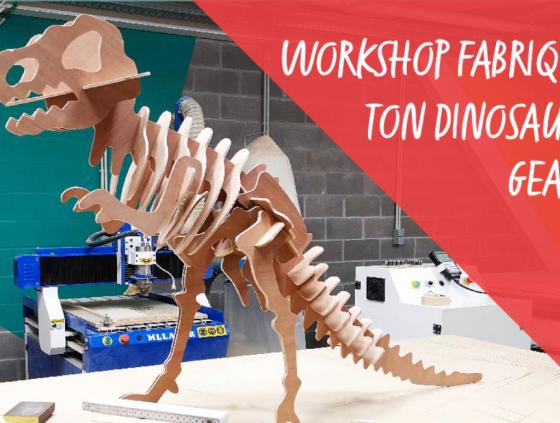 Workshop. Fabrique ton dinosaure géant !