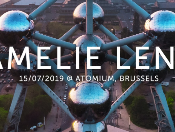 Concert. Amelie Lens at the Atomium