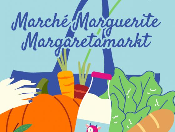 Rentrée du marché square Marguerite