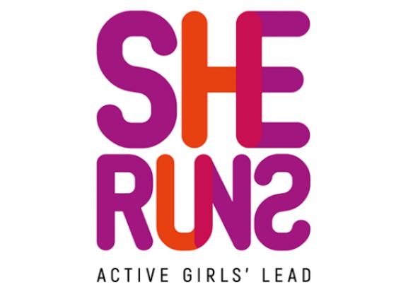 She Runs - Active Girls' Lead