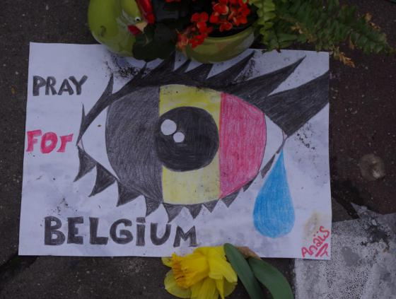 Commémoration des attentats du 22 mars 2016