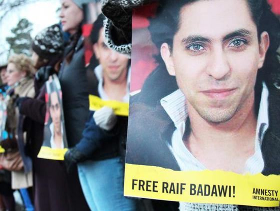 Action clés pour Raif Badawi