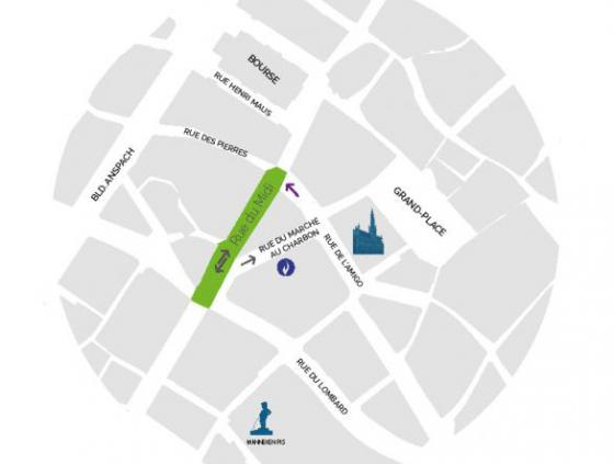 Chantier rue du Midi