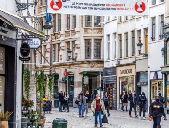 Mesures coronavirus de la Ville de Bruxelles