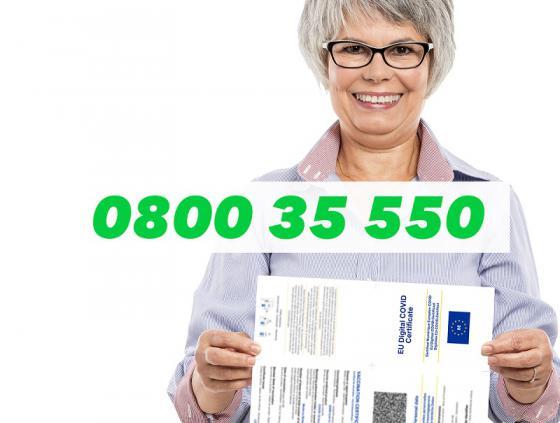 Covid Safe Ticket. De l'aide pour les seniors