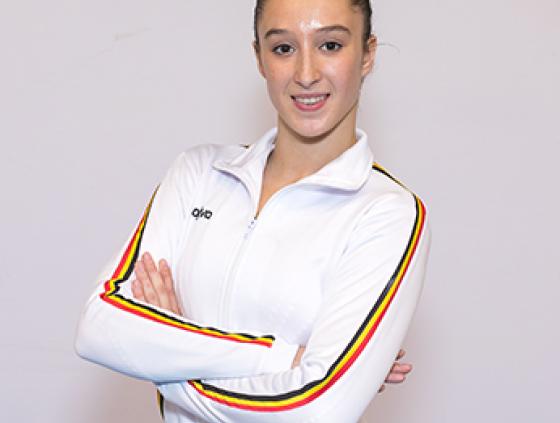 La gymnaste Nina Derwael décroche le Trophée National du Mérite Sportif