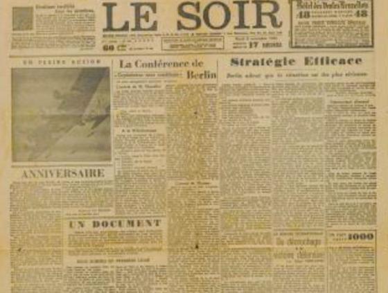 En novembre 1943, sortait le Faux Soir