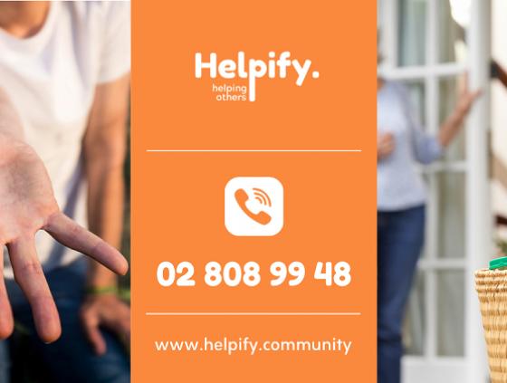 Helpify Community: réseau local de solidarité