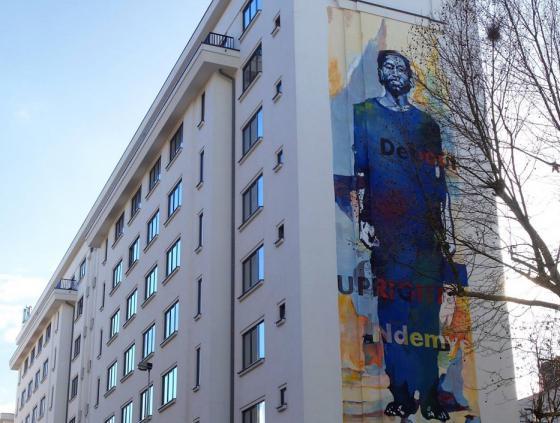 Une fresque street art pour ne pas oublier le génocide rwandais