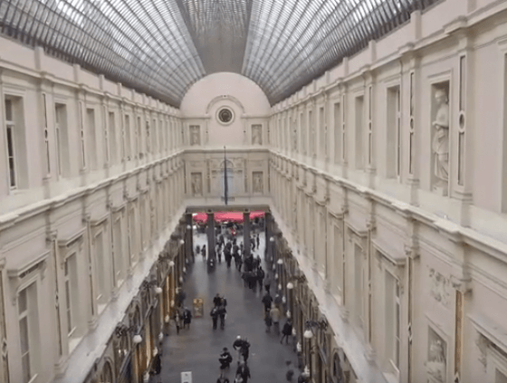 Film historique sur les Galeries Royales Saint-Hubert