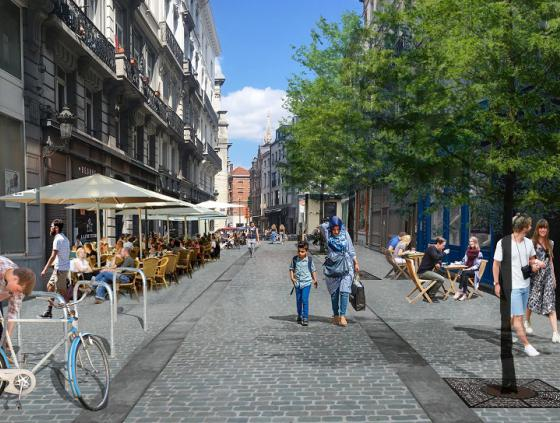 Réaménagement rue du Marché au Charbon
