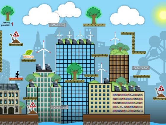 Ecorun, le jeu vidéo du Plan climat
