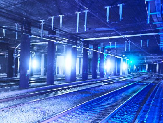 Travaux entre les gares de Bruxelles-Midi et de Bruxelles-Nord