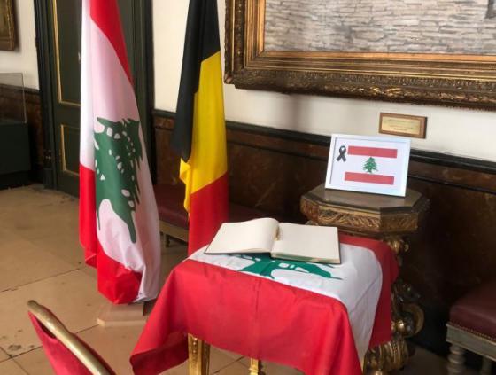 Un registre de condoléances pour les victimes des explosions au Liban