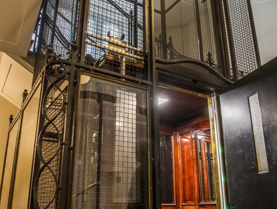 Reconnaissance de la valeur historique d'un ascenseur