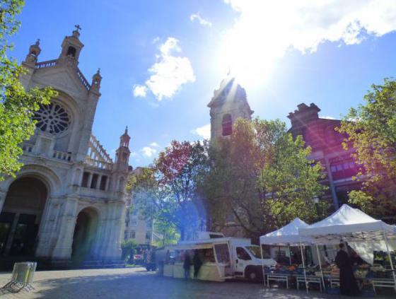 Un marché zéro déchet sur la place Sainte-Catherine ?