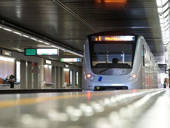 Travaux ligne métro 3 & station Toots Thielemans