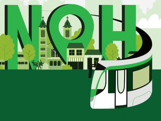 Nouveau tram à Neder-Over-Heembeek