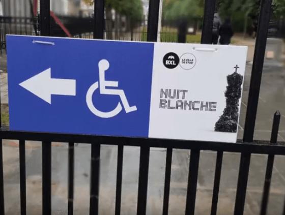 Prix de l'Accessibilité pour Nuit Blanche