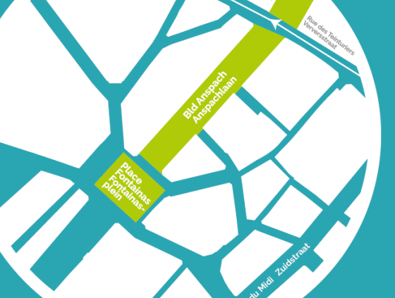 Circulation adaptée boulevard Anspach