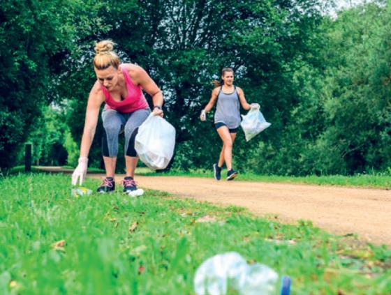 Plogging : courir et ramasser les déchets