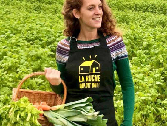 Des produits fermiers en plein centre