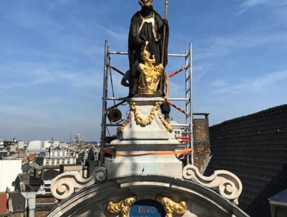 Saint-Nicolas de retour à la Grand-Place