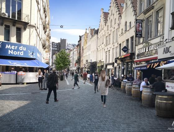 Réaménagement de la rue Sainte-Catherine