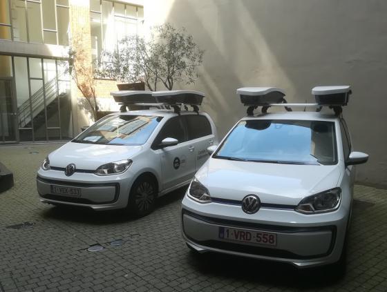 Des 'scanautos' vérifient le stationnement des véhicules