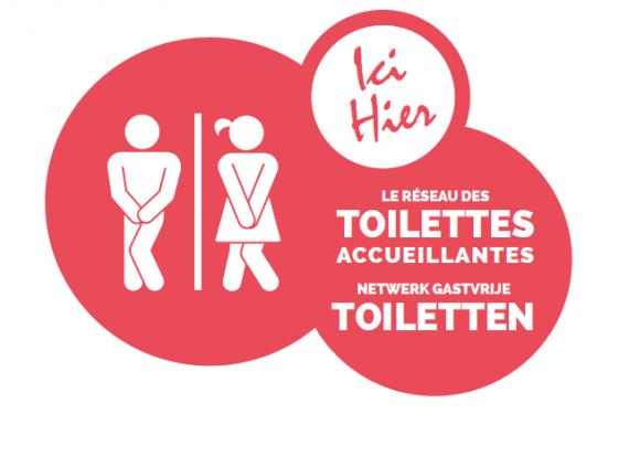 Commerçant ? Rejoignez le réseau des 'toilettes accueillantes'
