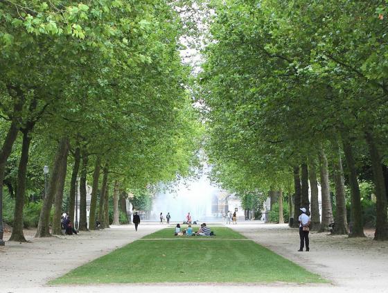 Parc de Bruxelles fermé du 13 au 15 juin 2021