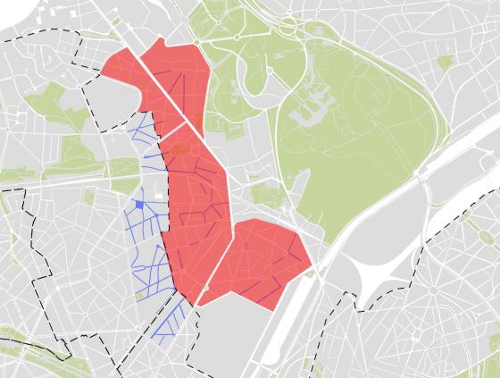 Nouvelles zones 30 à Laeken