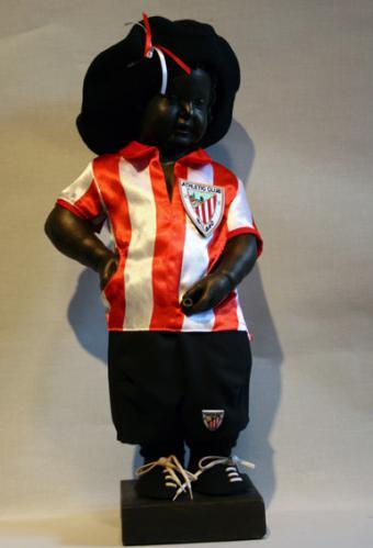 Manneken-Pis en Athletic Club Bilbao