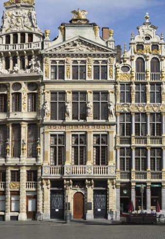 Midis bruxellois. De huizen van de Grote Markt