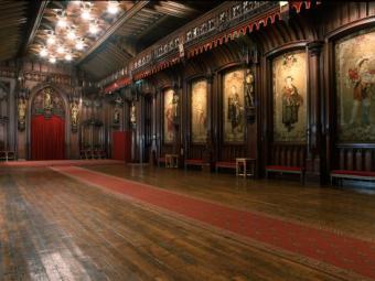 Salle gothique