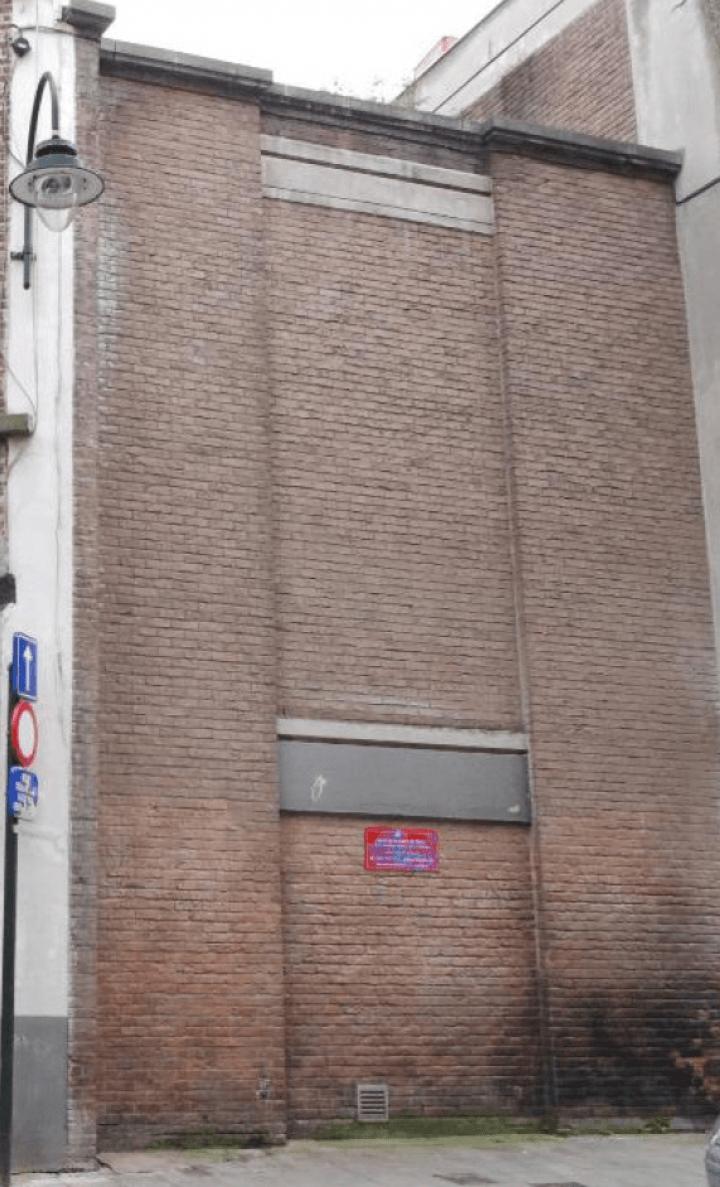 Mur de l'Institut Anneessens-Funck