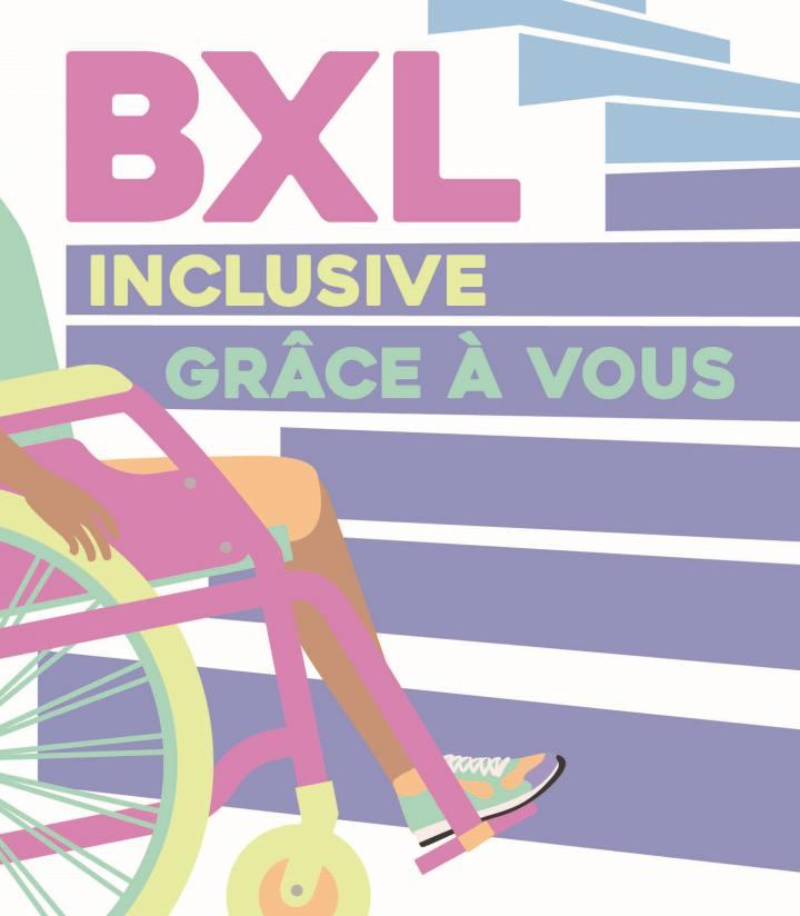 Bruxelles inclusive grâce à vous
