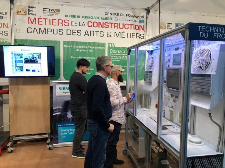 Le Campus des Arts & Métiers au salon Batibouw