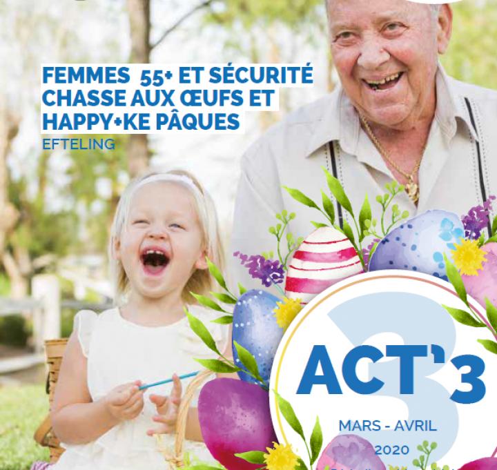 Seniors. ACT'3 mars-avril