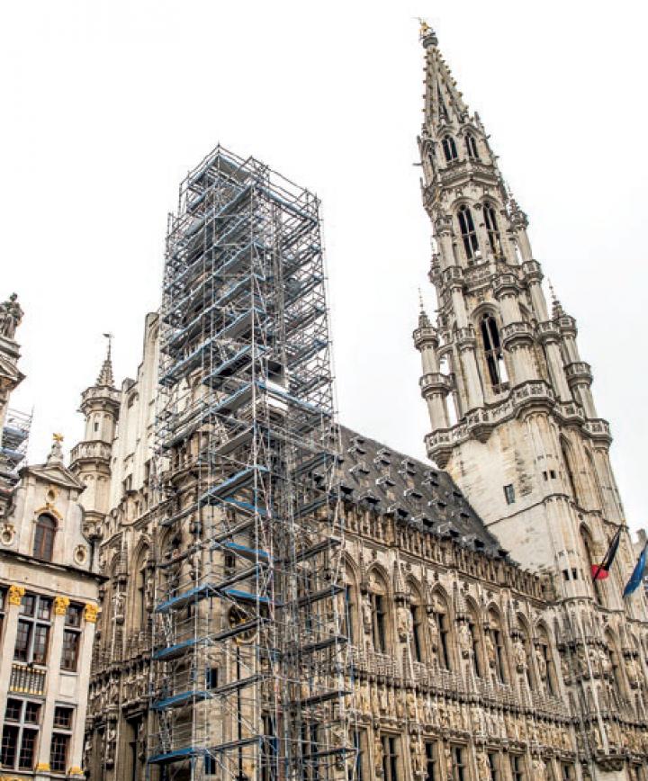 Restauration de l'Hôtel de Ville