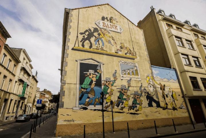 Lucky Luke (Rue de la Buanderie)